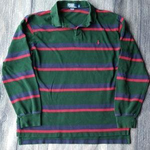 Polo by Ralph Lauren Stripe Pullover XL